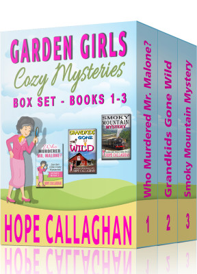 Garden Girls Cozy Mysteries Series Box Set – Books 1-3