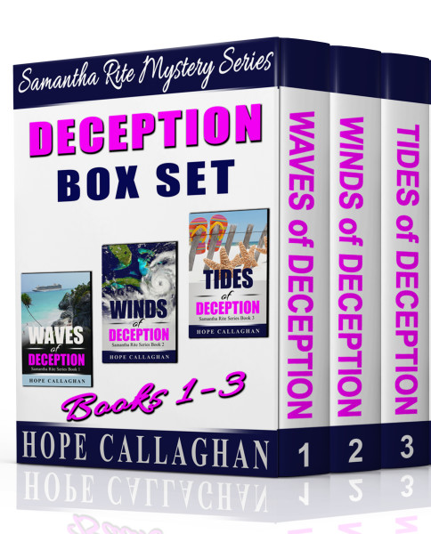 Samantha Rite Mystery Series – Deception Box Set – Books 1-3-The Complete Series