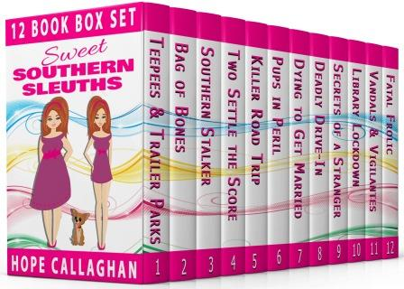 12 Book Box Set – Sweet Southern Sleuths Short Stories