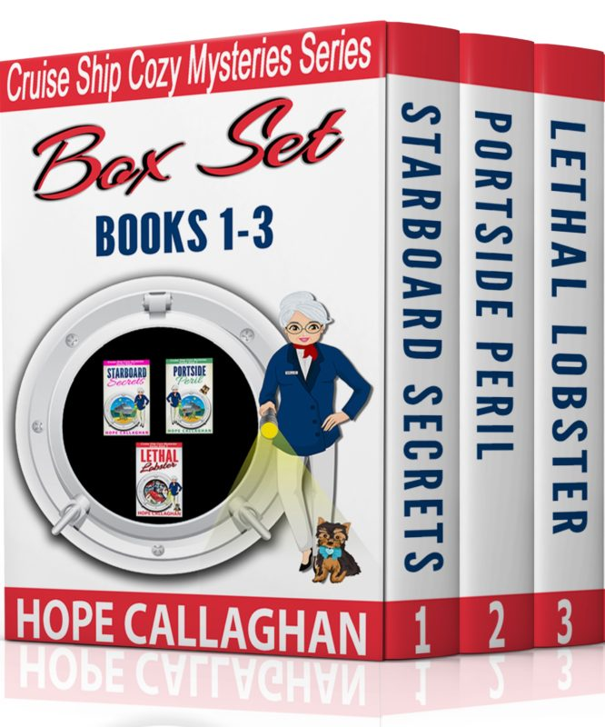 Cruise Ship Christian Cozy Mysteries Box Set (Books 1-3)