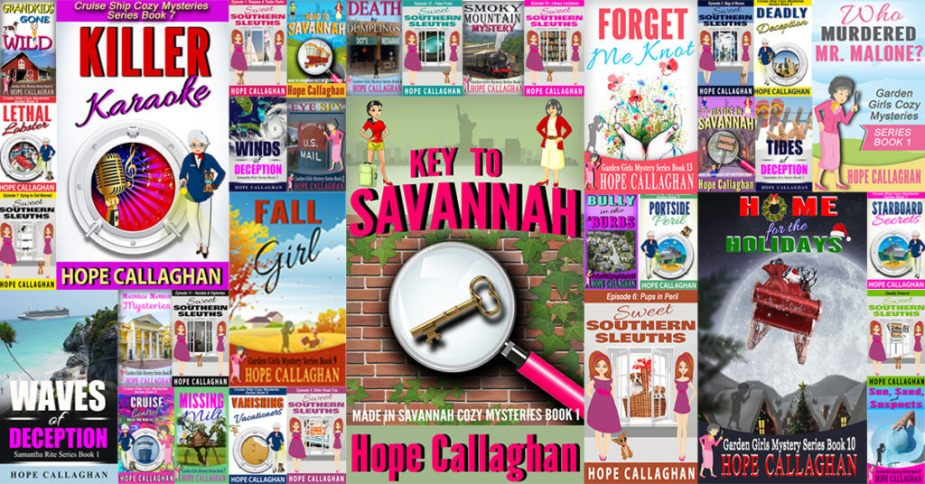 List of Hope Callaghan Books Picture