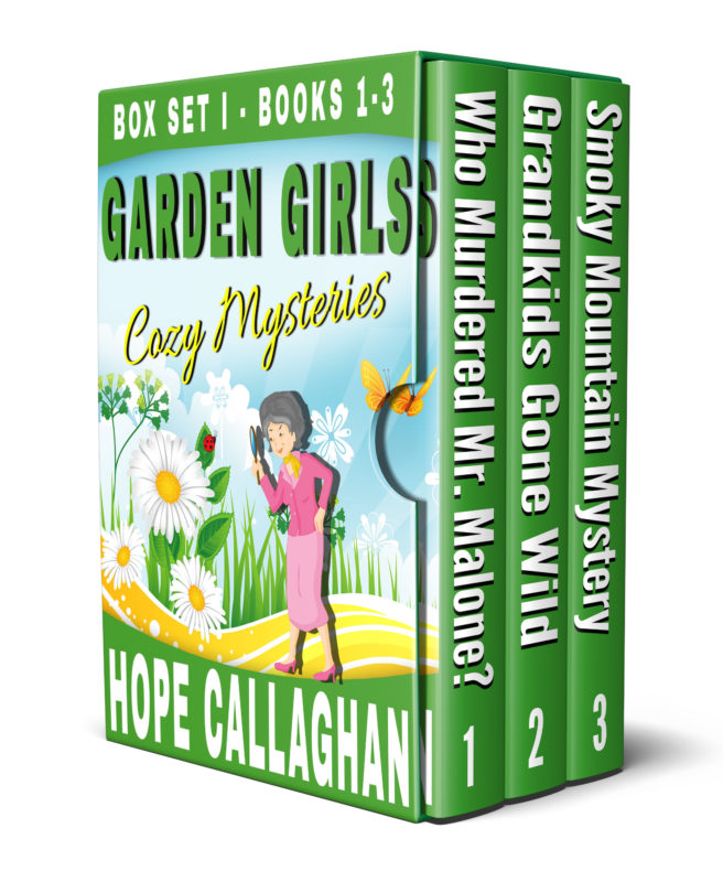 Garden Girls Cozy Mysteries Series Box Set I – Books 1-3