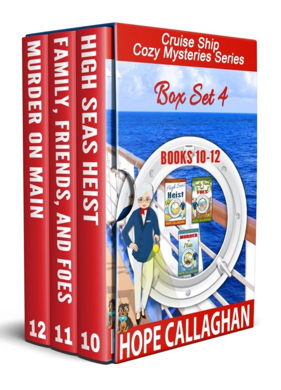 Cruise Ship Cozy Mysteries Box Set Four (Books 10-12)